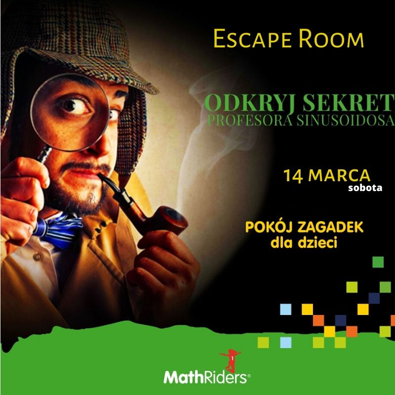 Escape Room MathRiders 14 marca